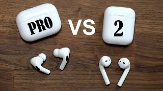 AirPods Pro vs AirPods 2 - Full Comparison and Should you Upgrade?