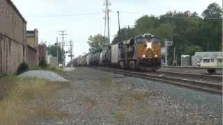 CSX Norfolk Southern Muncie, Indiana