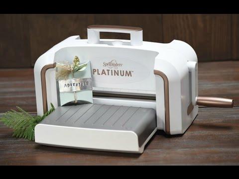 Spellbinders NEW Platinum™ Die Cutting & Embossing Machine Has Arrived!