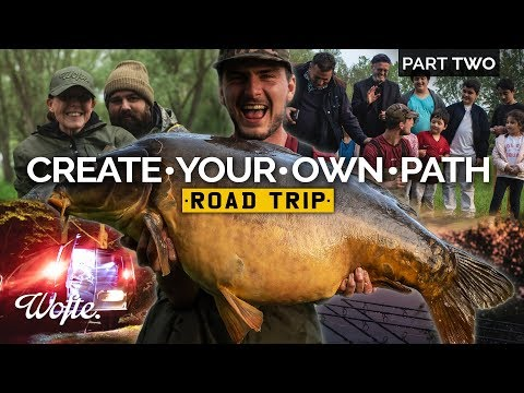 Fishing For HUGE Carp In Europe Part Two | Create Your Own Path Road Trip | Wofte CARP FISHING
