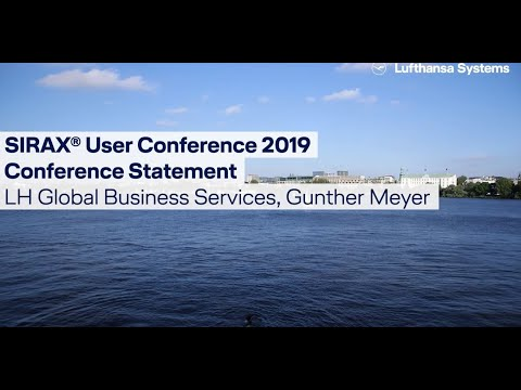 SIRAX® Customer Statement 2019  LH Global Business Services / Lufthansa Systems