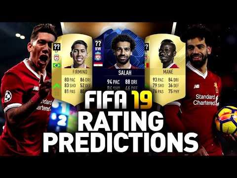FIFA 19 | LIVERPOOL RATING PREDICTIONS (Przewidywane ratingi)
