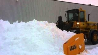 SSTA - Pelle à neige modèle CL-1017 / CL-1017 SSTA's snow plow