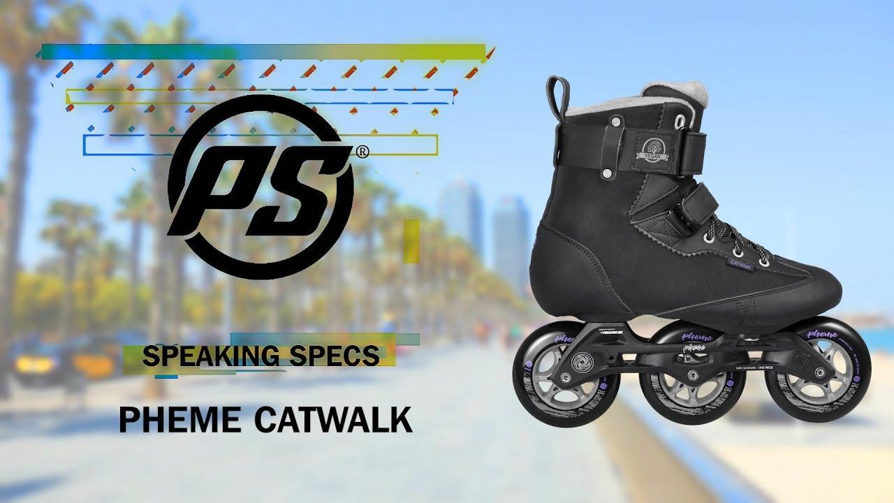 bd14265968b8b Powerslide Pheme Catwalk 100 - Fitness Inline Skates