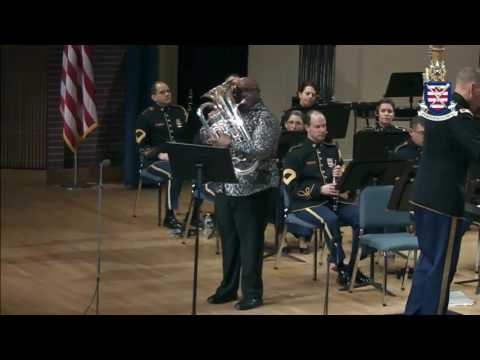 "Demondrae Thurman - Barfield ""Heritage"" Concerto for Euphonium - The United States ""Pershing's Own"""
