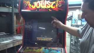 #530 Williams JOUST Arcade Video Game with some TODD