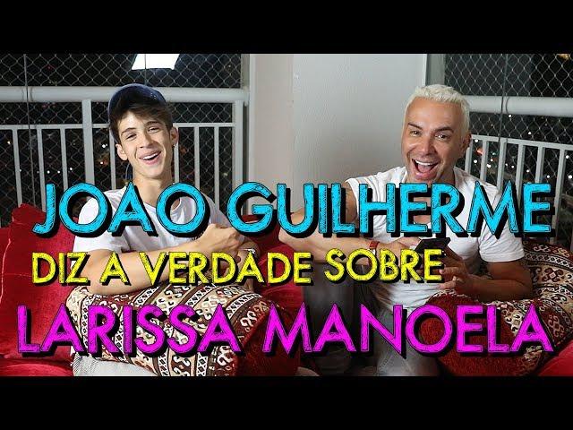 58b8472e88dc4 João Guilherme diz se voltaria a namorar Larissa Manoela