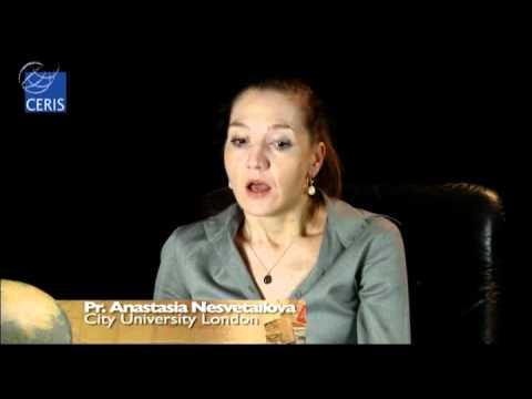 Anastasia Nesvetailova CERIS Interview on Global Financial Crisis