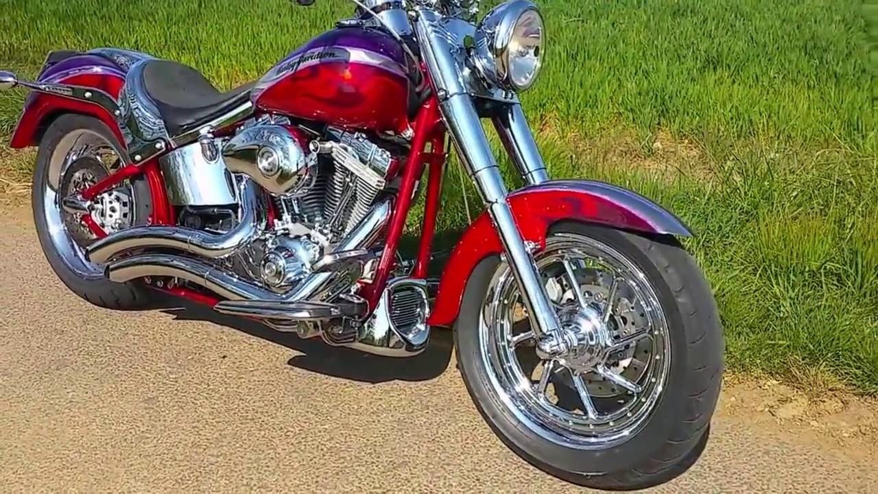 Harley Davidson Flstfse2 Screamin Eagle Fatboy Cvo 2006