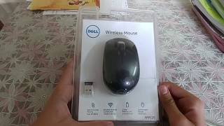 Unboxing of Dell Wireless Mouse WM126 -White (N8YXC)