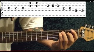 Guitar Lesson - BEATLES - NOWHERE MAN - Easy!