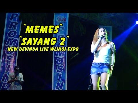 Memes - Sayang 2 NEW DEVINDA live Wlingi Expo