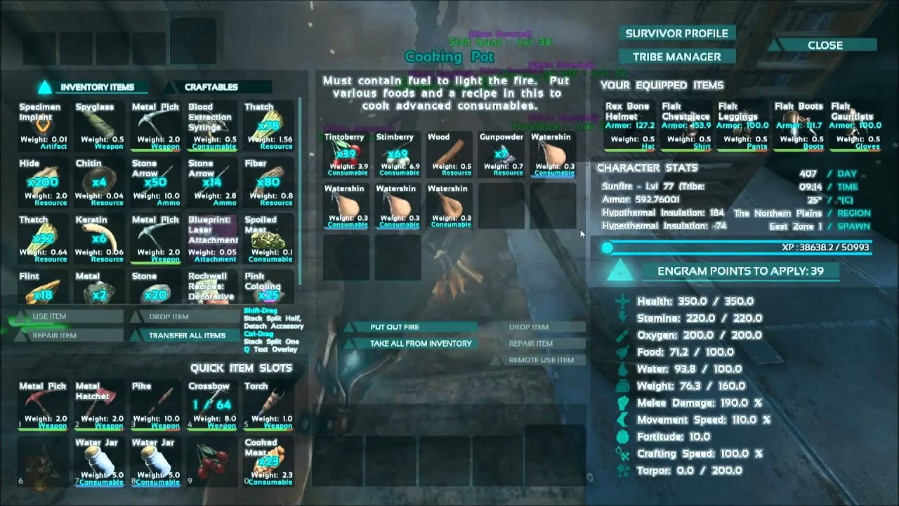 Ark survival dye recipe