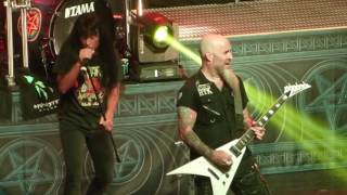 """""""March of the SOD & Blood Eagle Wings"""" Anthrax@Wellmont Theatre Montclair, NJ 3/29/17"""
