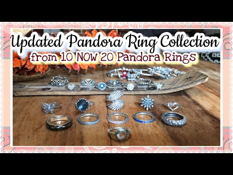 Pandora Ring Collection 2018 Update : From 10 rings to 20 Pandora Rings |New & Retired Pandora Rings