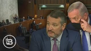 Ted Cruz Triggers MELTDOWN When He Points Out Dems Have Already Left Hearing for ACB