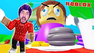 Roblox: ENTKOMME VOR XXL MAMA & PAPA! KAAN SHRUNK AT THE BARBECUE! Obby German