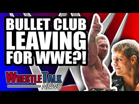 Bullet Club LEAVING For WWE?! New Japan Backstage Frustration! | WrestleTalk News Oct. 2018