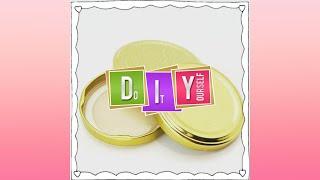 DIY recyclage de #couvercles de bocaux #kitchendiy #easydiy #bouchonsdiy #5minutescraft #lidsdiy