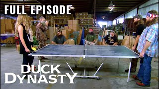 Duck Dynasty: Spring Pong Cleaning (Season 2, Episode 7) | Full Episode | A&E