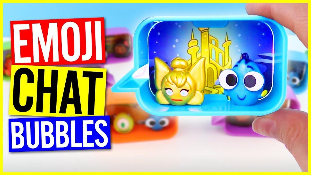 NEW Disney Blitz Emoji Chat Bubbles Opening! Rare S1 Specials Goldi &  Squishi Found!