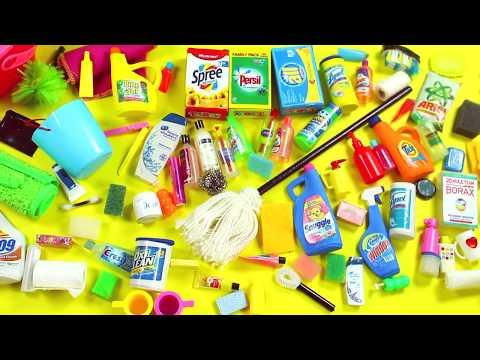 100 DIY Accesorios / Productos de Limpieza y Baño en Miniatura  - Manualidades Fáciles para Muñecas
