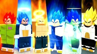 Left! UPDATE DRAGON BALL RP ON ROBLOX WITH NEW VEGETA, GOGETA AND FORMA GOD AND SSB