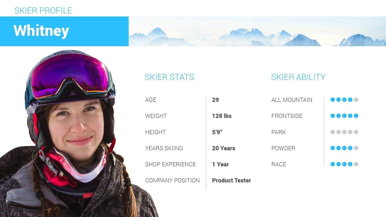 Whitney s Review-Line Pandora 94 Skis 2019-Skis.com 27 45 - YouTube b2f38cc451d1
