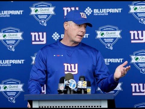Mike Francesa w/Pat Shurmur-The Giants downward spiral,full of bologna,Eli Apple,more WFAN