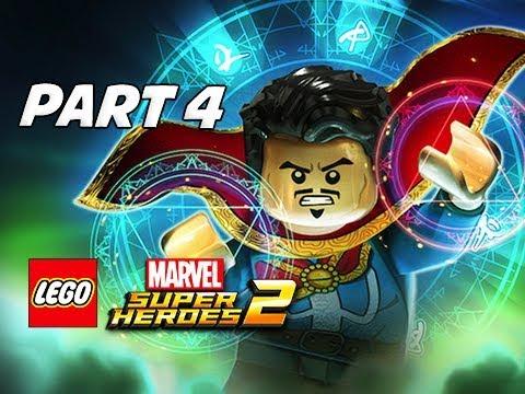 LEGO Marvel Super Heroes 2 Gameplay Walkthrough Part 4 - DR. STRANGE