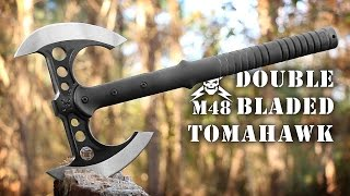 United Cutlery M48 Double Bladed Tactical Tomahawk