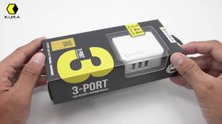 UNBOXING TRAVEL CHARGER 3 PORT AUTO ID