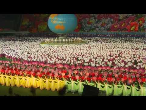 North Korea 2011 Mass Games highlights with English subtitles  (2 of 2)
