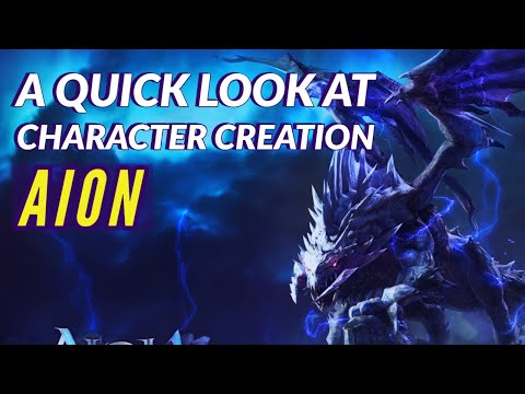 Aion Gameplay | Character Races and Classes