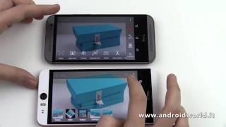 HTC Desire Eye vs HTC One (M8), il confronto