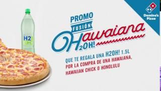 Pizza A Domicilio: Promo Fusión Hawaiana Y H2Oh! | Domino's Pizza Colombia