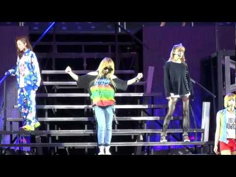 120824 - 2NE1 Soundcheck Party - In the Club + Stay Together @ Nokia Theatre in LA