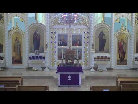 Christ The Saviour Orthodox Cathedral Service 2020-03-26