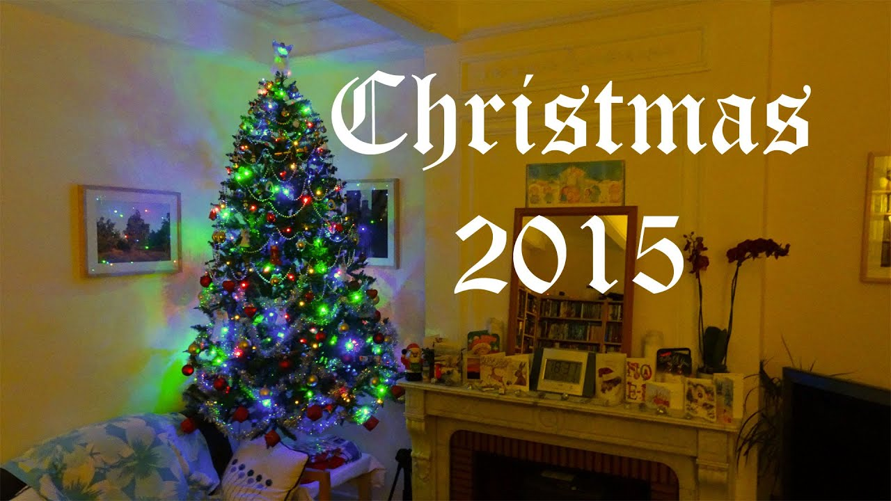 Christmas tree time lapse decorating with Chloe the Exceptional Cat on