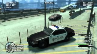 GTA IV Police Pursuit Mod V7.6d gameplay w/ PolicePatrol