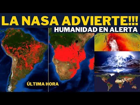 URGENTE❗LA NASA CONFIRMA🔴EL MAPA MUESTRA LA REALIDAD