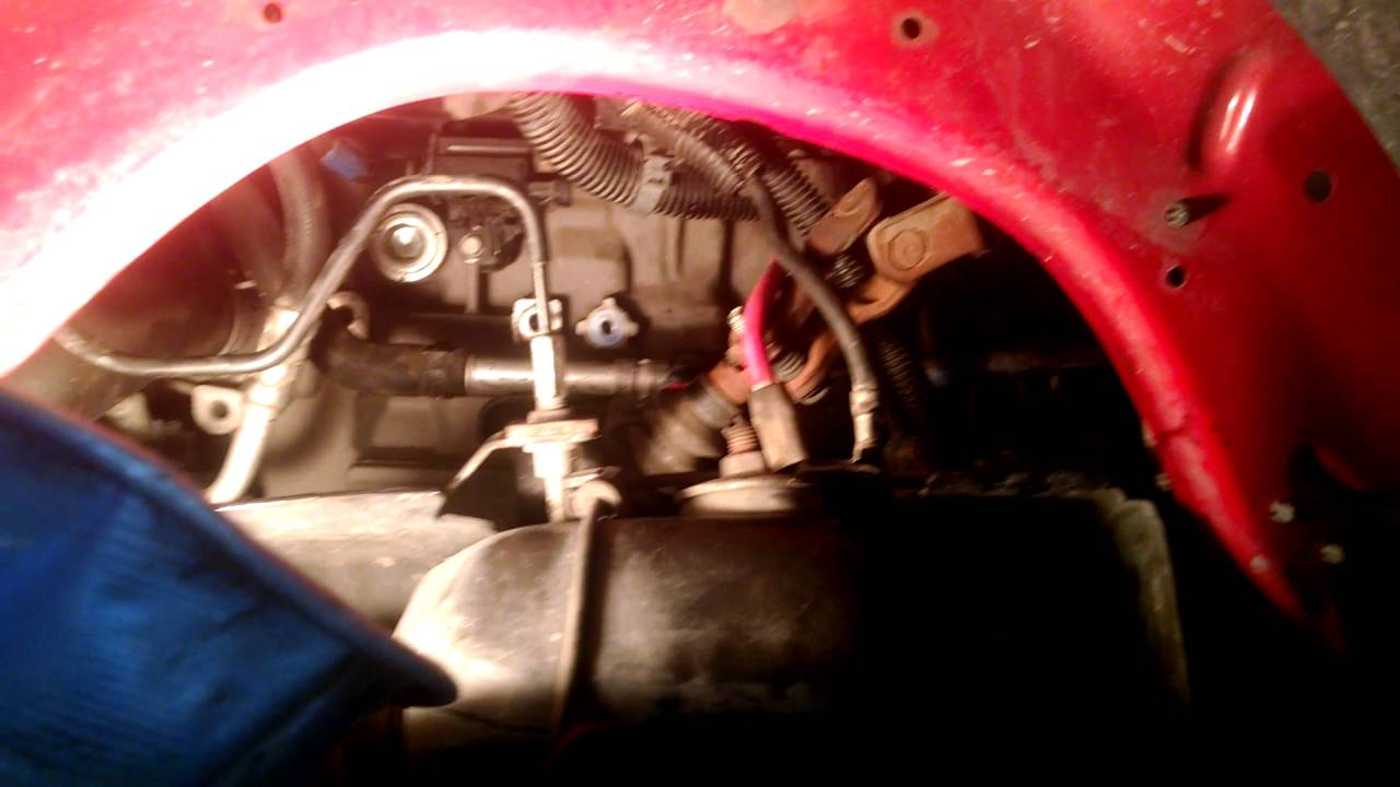 Replace the starter on a Chevy Colorado  YouTube