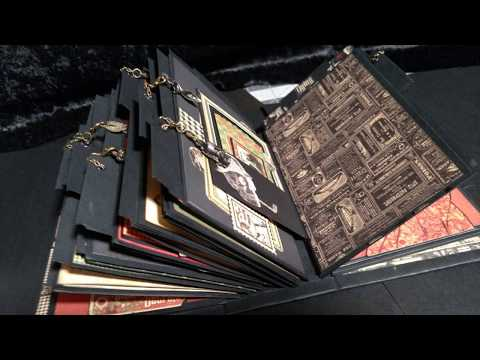 Graphic 45 Master Detective 221B Baker Street Mini Album & Stand