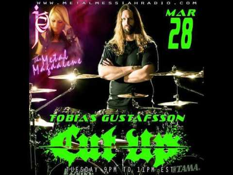 Tobias Gustafsson of Cut Up interview on The Metal Magdalene w Jet