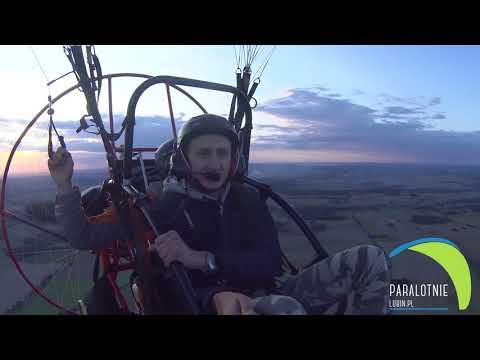 Lot z Marcinem Dagiel