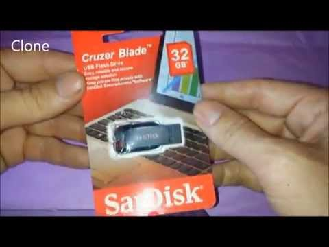 SanDisk Cruzer Blade 32GB Flash Drive - Original/Clone/Fake