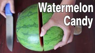 Cara gampang buat permen semangka sendiri di rumah (Watermelon Candy)