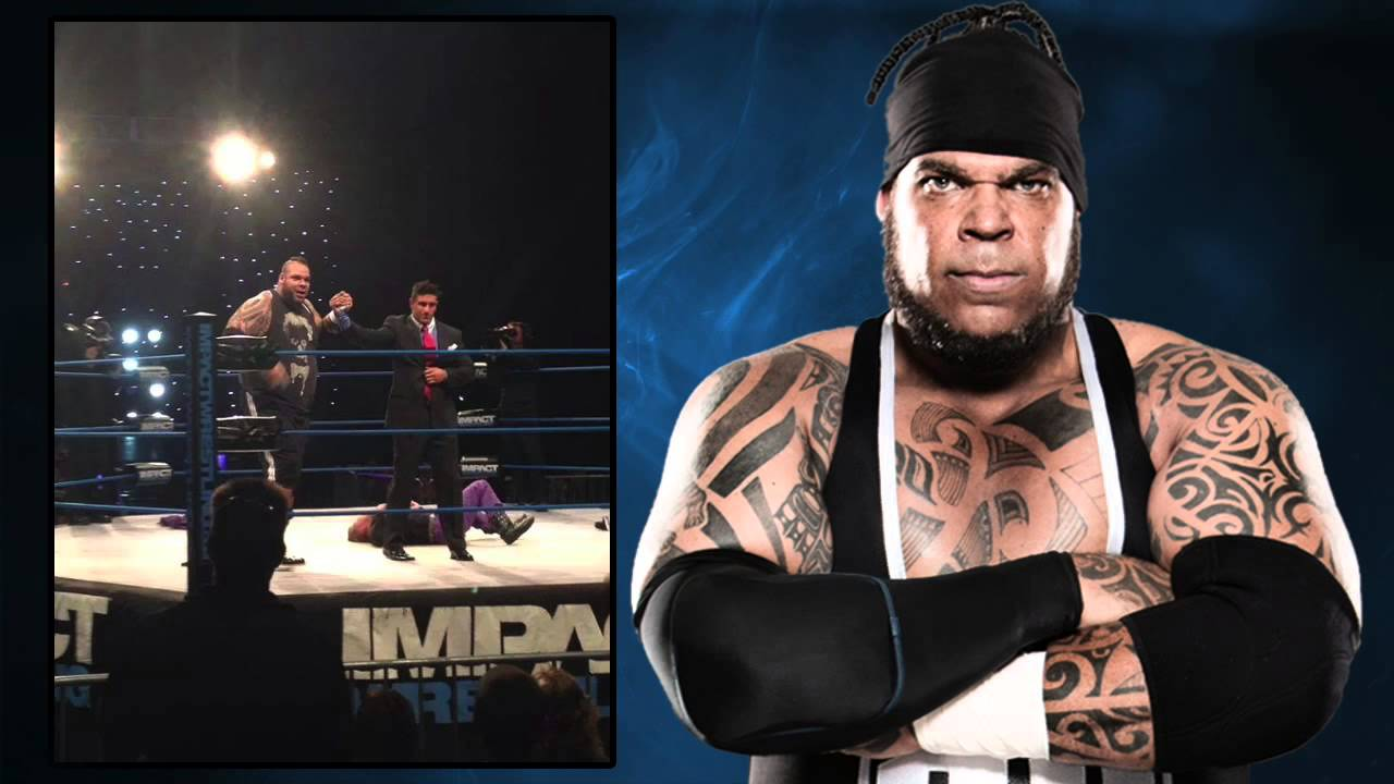 brodus clay arrives in tna impact wrestling youtube