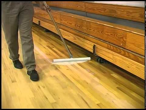 Finishing Gym And Wood Floors With Kaimotion Youtube