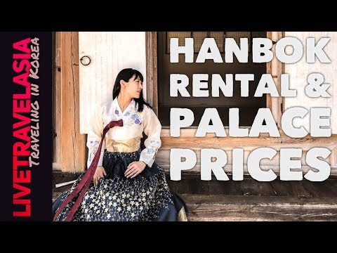 Changdeokgung Palace Secret Garden Hanbok Rental Guide and Prices (Shot in Sony A7Sii 4K)